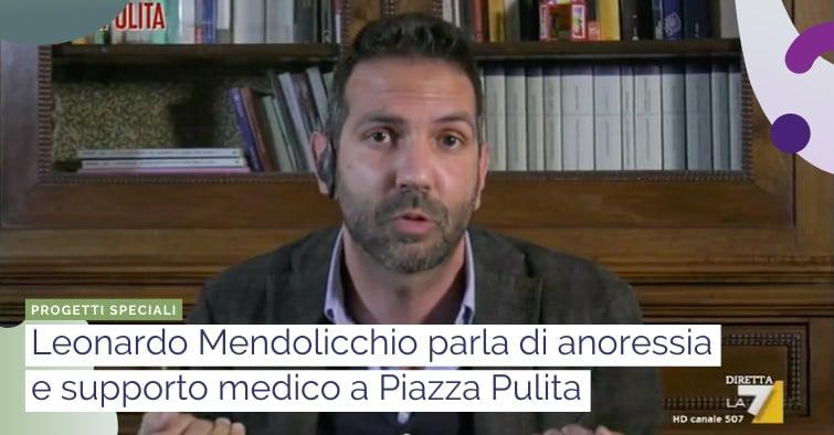 anoressia e supporto medico: parla mendolicchio a piazza pulita